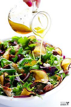 Fuji Apple Chicken Salad (Panera Bread Copycat) | gimmesomeoven.com