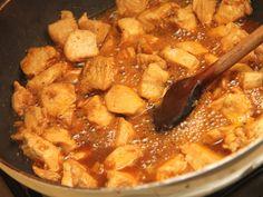 Édes-csípős csirke recept lépés 5 foto