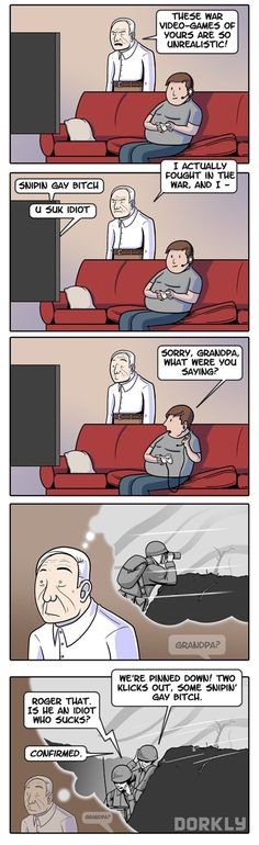 Respect your elders...Call of Duty is Way More Realistic Than We Ever Thought