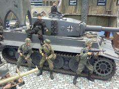 Diorama 1/6th scale: Tiger Tank