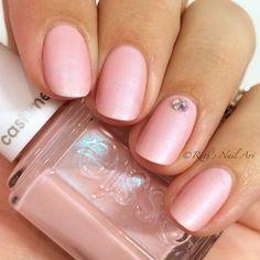 """""""Just Stitched"""" Cashmere Matte by Essie. #ruthsnailart #nailswatch"""