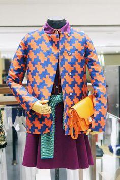 Lane Crawford VM by S.Bubble aka Susanna Lau  Diane Von Furstenberg jacket