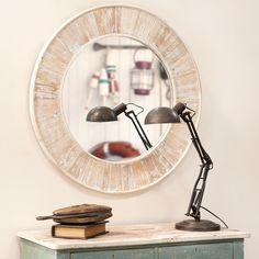 Spiegel Holz geweißt Marcellin