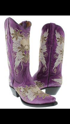 1000  images about purple cowboy boots on Pinterest | Purple ...