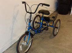 electric bike conversion kit on adult tricycle