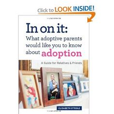 """In on it: What adoptive parents would like you to know about adoption"""