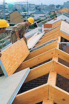 THERMOCHIP® TAH con friso de abeto | Construcción y Reformas | #panel #sandwich…