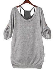 Kvinner Two-Piece Halter skjorter med Vest – NOK kr. 113