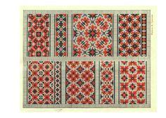 Libro de bordados de Ucrania de 1930