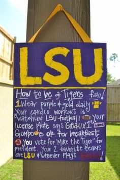 LSU Tailgating by gertrude