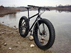Fat bikes are just awesome! #fatbike #bicycle