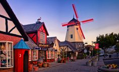Travel to the charming Danish-American hamlet of Solvang.