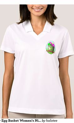 Colorful Easter Egg Basket Women's Nike Polo Shirt This Women's Nike Dri-FIT Pique Polo Shirt features a basket of colorful Easter Eggs.You can custom this design to products, check out https://www.zazzle.com/z/3ms04  to get up 15% off with code EASTERBEST17.Click here https://www.zazzle.com/collections/easter_clothings_for_women-119488585367520922?rf=238478323816001889&CMPN=share_dclit&lang=en&social=true to see more products on collection.Via @halotee #happyeaster #easter #easterbunny…