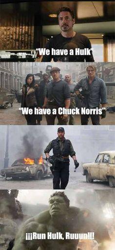 Chuck vs. Hulk