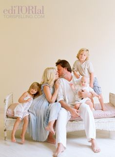 love the color of clothing style for our family shoot