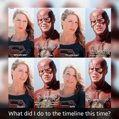ha, sorry Barry, you ain't known by Supergirl. Superhero Shows, Superhero Memes, Supergirl Dc, Supergirl And Flash, Arrow Flash, Dc Comics, Flash Funny, The Flash Grant Gustin, Cw Dc