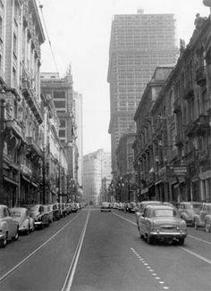 1954 - Rua Líbero Badaró.
