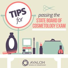 These tips will help you pass the state board of cosmetology exam! #myavalon