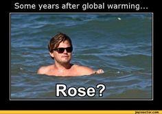 funny leonardo di caprio titanic movies tv global warming / funny pictures & best jokes: comics, images, video, humor, gif animation - i lol'd