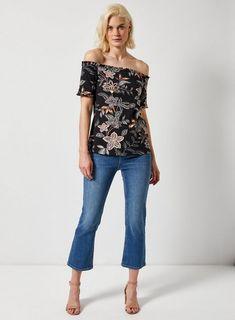 a397a026d42 8 Best Black bardot dress images | Beautiful shoes, Black bardot ...