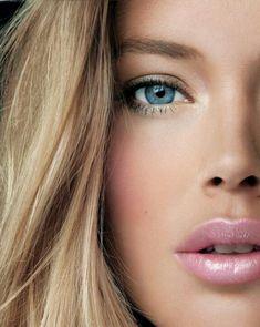 Doutzen, shiny pink lip. #lovemebeauty