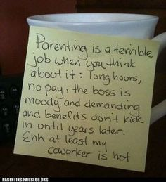 So true . . . thank goodness for my hunky coworker who's always ready to work extra hours when I need a break!