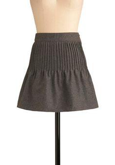 Modcloth Extracurricular Cutie Skirt. Pintucks, huh?