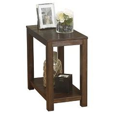 Grinlyn Chair Side End Table Rustic Brown - Signature Design by Ashley