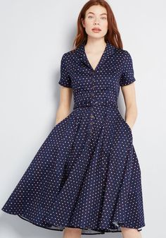 ae8f0c1129f Collectif x MC Cherished Era Shirt Dress