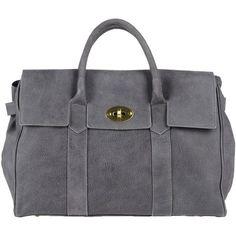CAMY BAGS Handbag (270 PEN) ❤ liked on Polyvore featuring bags, handbags, purses, borse, lead, studded leather handbag, studded leather purse, genuine leather purse, genuine leather handbags and studded handbags