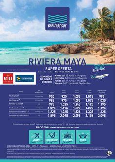 Super Oferta Riviera Maya Cadena Iberostar y Riu - http://zocotours.com/super-oferta-riviera-maya-cadena-iberostar-y-riu/