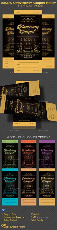 Church Anniversary Banquet Ticket Template Ticket template - ball ticket template