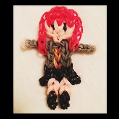 Ginny-Harry Potter Rainbow Loom I personally only like the hermione on the rainbow loom but would be cool action figure