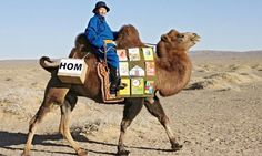 The Mongolian Children's Mobile Library.