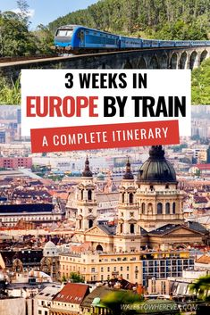 An Epic 3 Week Interrailing Route for Europe: 8 cities in 21 days, TRAVEL, Are you planning your first Interrailing trip around Europe? Travelling Europe by train is one of the best ways to see the continent, and this 3 week . Europe Train Travel, Travel Around Europe, Europe Travel Guide, Travel Guides, Travelling Europe, Travel Deals, Budget Travel, Traveling Tips, Travel Hacks