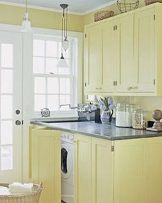 Laundry Room Under Counter Washer Dryer Design, Pictures, Remodel, Decor and Ideas - page 4
