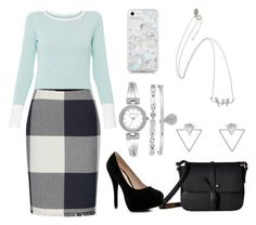 The Office Awaits by pinesie on Polyvore featuring polyvore, fashion, style, Raffi, Boohoo, Foley + Corinna, Anne Klein, Eloquii, Skinnydip and clothing
