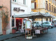 Arlu - best little restaurant in the Vatican district of Rome.  Order the Gnocchi with Spinach Ricotta Sauce.