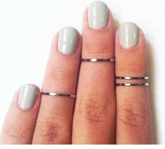 Gold or sliver alloy. Sets of two for $10 or four for $15.