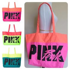 Victoria's Secret PINK beach tote Used only once.❌NO TRADE‼️ PINK Victoria's Secret Bags Totes