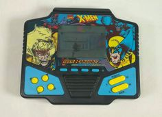 Vintage 1994 X-men BARCODZZ TIGER ELECTRONICS LCD HANDHELD GAME Tested #TigerElectronics