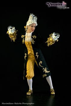 """Lumiere by VeronicaCosplay.deviantart.com on @deviantART - From """"Beauty and the Beast""""; the cosplay is based on the costume from the Broadway musical."""