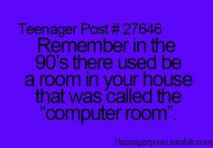 HA! Those were the days.