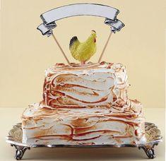 Vanieljebotterkoek met suurlemoensmeer en geskroeide meringue. Meringue, Cakes, Desserts, Wedding, Food, Merengue, Tailgate Desserts, Valentines Day Weddings, Deserts