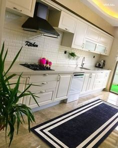 Çok Konuşulacak 44 Harika Mutfak Dolap Modelleri These Kitchen Cabinet Models Too Many Will Be Discussed Kitchen Cabinets Models, Kitchen Models, Modern Cafe, Luxury Homes, Home Accessories, Sweet Home, Decoration, Furniture, Home Decor