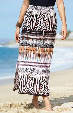 Mega cool Cellbes Nederdel Mønstret Cellbes  til Damer i luksus kvalitet