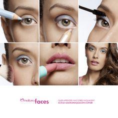 Os looks discretos e clarinhos são tendência. Marcos Costa ensina como fazer o look com Natura Faces: http://www.adoromaquiagem.com.br/dicas-maquiagem/novidades-tendencias/efeito-de-sombra-com-lapis-esfumado/16099/ #look #dica