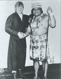 Backlund and Maivia