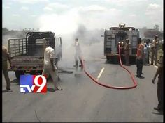 1 dies as vehicle carrying crackers in Kavuri's convoy catches fire