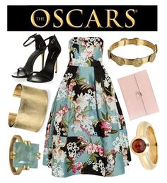 """The Oscars"" by doodaday2 ❤ liked on Polyvore featuring Erdem, Alexander McQueen, Dolce&Gabbana, Blue Nile, Rebecca Lankford Designs and Tiffany & Co."